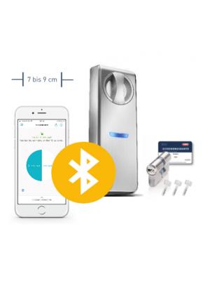 Neuheit: Somfy Smartes Türschloss ABUS für Türen mit 7-9 cm Durchmesser